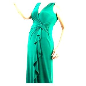 Green Ralph Lauren Evening Dress